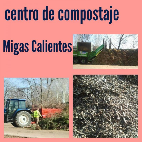 Visita guiada a planta de compostaje de migas calientes for Viveros madrid sur