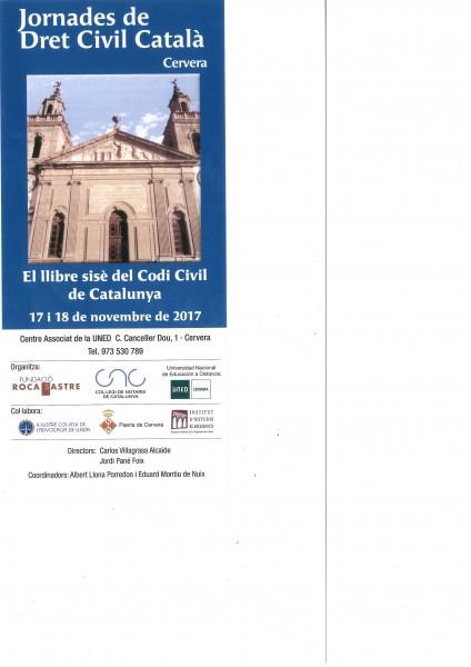 Jornades De Dret Civil Catal U00e0