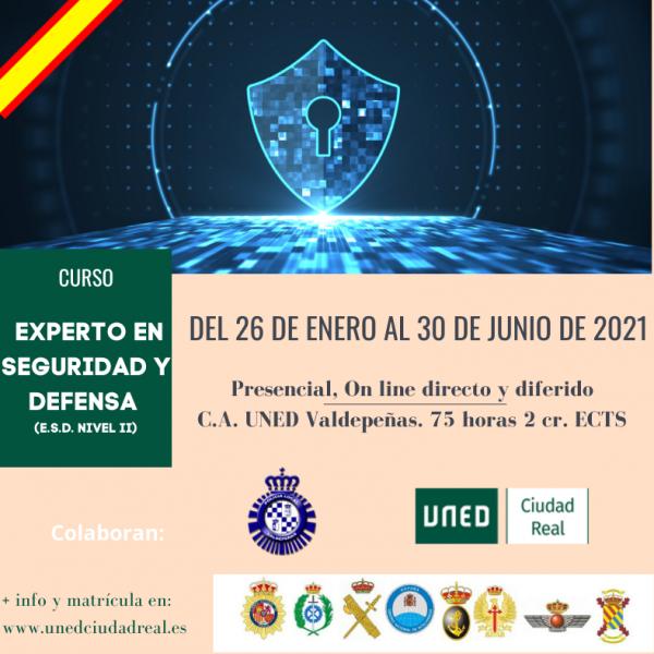 Curso Experto En Seguridad Y Defensa E S D Nivel Ii Extension Universitaria En Ciudad Real Valdepenas Uned