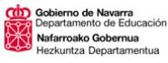 Departamento de Educación. Gobierno de Navarra