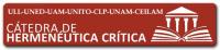 """CÁTEDRA INTERNACIONAL DE INVESTIGACIÓN EN HERMENÉUTICA CRÍTICA """"HERCRITIA"""""""
