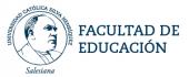 Facultad de Educación de la Universidad Silva Henríquez de Santiago de Chile (Porgrama de Pedagogía de la Educación Física