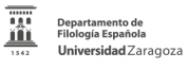 Departamento de Filología Española de la Universidad de Zaragoza