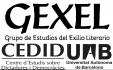 Grupo de Estudios del Exilio Literario (GEXEL)