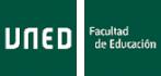 Departamento de Didáctica, Organización Escolar y Didácticas Especiales. Facultad de Educación. UNED
