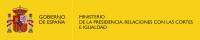 MINISTRERIO DE LA PRESIDENCIA, RELACIONES CON LAS CORTES E IGUALDAD